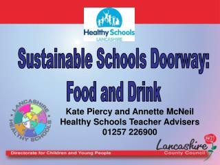 Sustainable Schools Doorway: Food and Drink