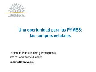 Una oportunidad para las PYMES: las compras estatales