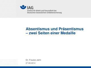 Absentismus und Präsentismus – zwei Seiten einer Medaille