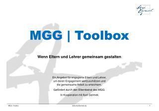 MGG | Toolbox