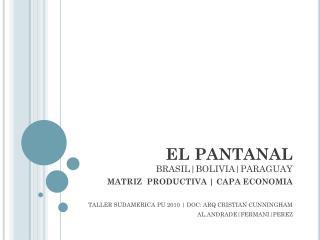 EL PANTANAL BRASIL|BOLIVIA|PARAGUAY
