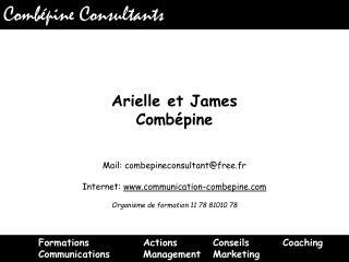 Arielle et James  Combépine