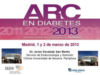 Madrid, 1 y 2 de marzo de 2013