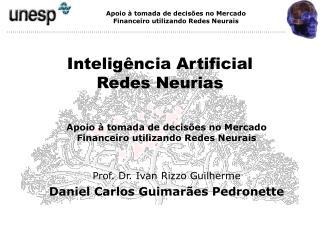 Inteligência Artificial Redes Neurias