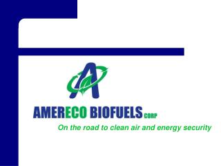 On the road to clean air and energy security