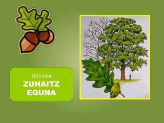 2013-2014 ZUHAITZ EGUNA