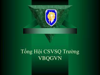 Tổng Hội CSVSQ Trường VBQGVN