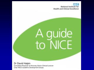 Dr David Halpin Consultant Physician & Honorary Senior Clinical Lecturer