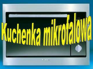 Kuchenka mikrofalowa