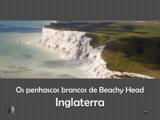 Os  penhascos brancos  de  Beachy  Head Inglaterra