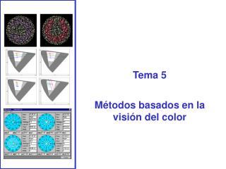 Tema 5  M todos basados en la visi n del color