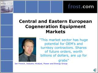 Central and Eastern European Cogeneration Equipment Markets