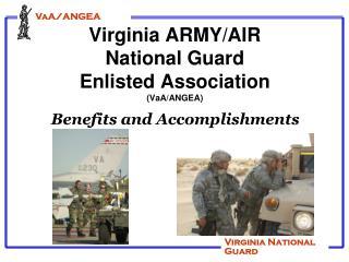 Virginia ARMY/AIR National Guard Enlisted Association (VaA/ANGEA)