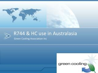 Green Cooling Association Inc
