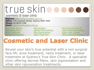 True Skin Cosmetic and Laser Clinic