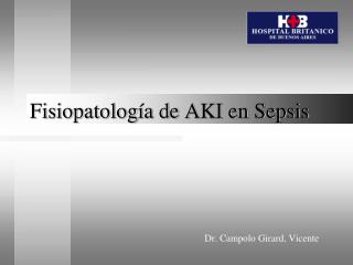 Fisiopatología de AKI en Sepsis