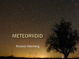 Meteoriidid