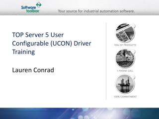 TOP Server 5 User Configurable (UCON) Driver Training