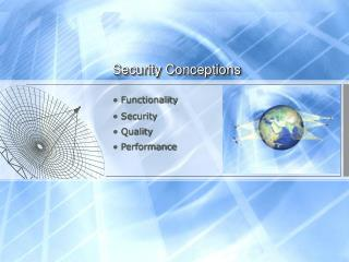Security Conceptions