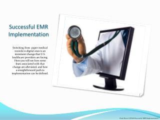 Successful EMR Implementation