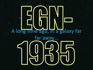 A long time ago, in a galaxy far  far  away�