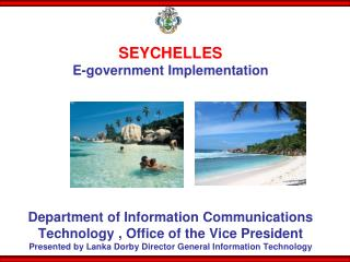 Department  Responsible for Electronic Government