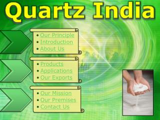Quartz India