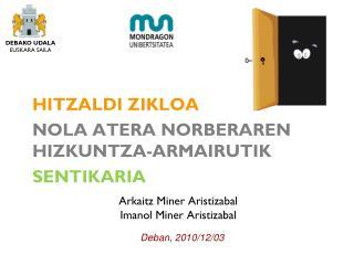 Arkaitz Miner Aristizabal Imanol Miner Aristizabal