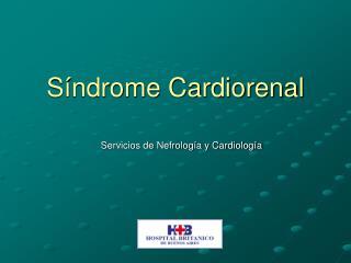 Síndrome Cardiorenal
