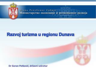 Dr Goran Petković, državni sekretar