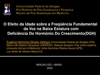 ARACAJU (SE) – BRASIL 2010