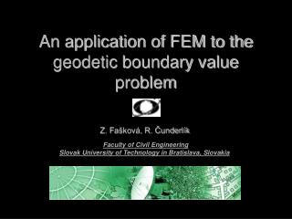 An application of FEM to the geodetic boundary value problem