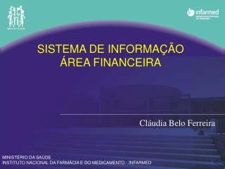 SISTEMA DE INFORMAÇÃO ÁREA FINANCEIRA