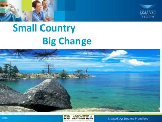 Small Country              Big Change