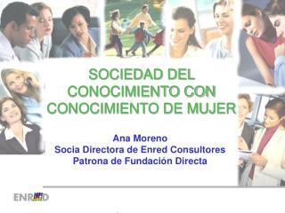 SOCIEDAD DEL CONOCIMIENTO CON CONOCIMIENTO DE MUJER