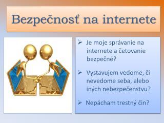 Bezpečnosť na internete