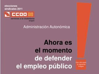 elecciones sindicales 2011