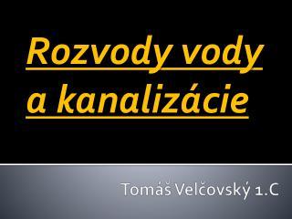 Tomáš  Velčovský  1.C