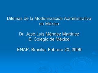 Situación  de gobierno a principios 2000s
