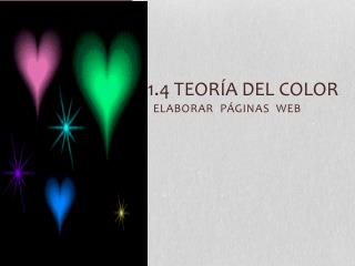 1.4 Teoría del color