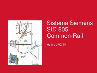 Sistema Siemens SID 805 Common-Rail