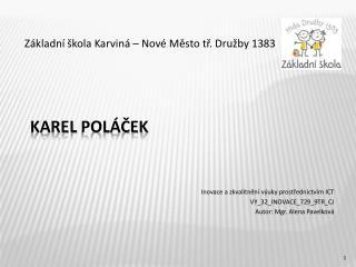 Karel  pol�?ek