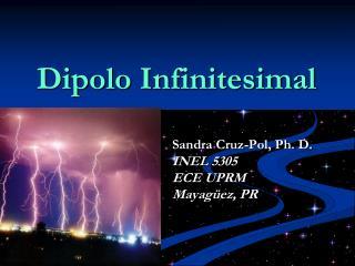 Dipolo Infinitesimal