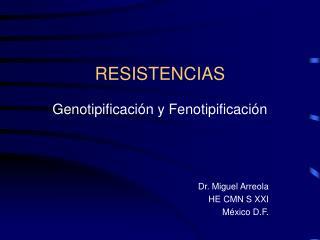 RESISTENCIAS