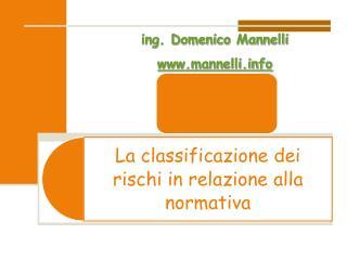 ing. Domenico  Mannelli mannelli