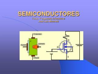 SEMICONDUCTORES Física 1º Ingeniería Informática José Luis Mincholé