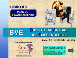 B IBLIOTECA  V IRTUAL DEL  E MPRENDEDOR.