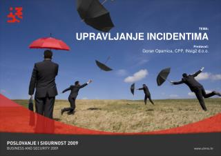 TEMA: UPRAVLJANJE INCIDENTIMA