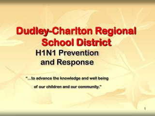 Dudley-Charlton Regional School District