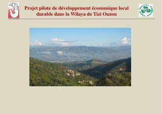 Projet pilote de d veloppement  conomique local durable dans la Wilaya de Tizi Ouzou